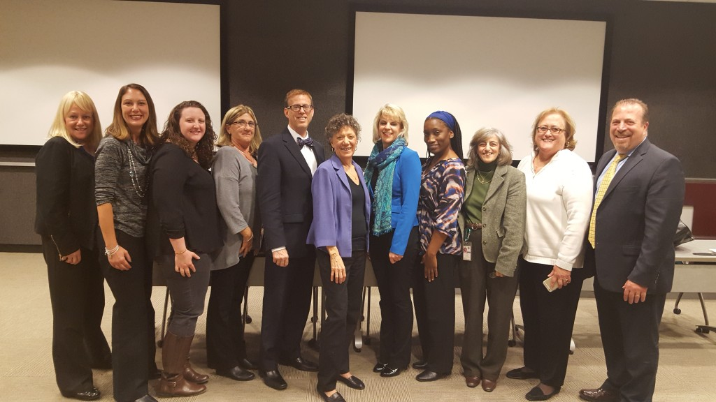 Detective Pam Stark, Heather Harten, Lauren Laurore, Bonnie Owens- presenter, Anthony Zenkus- presenter, Alberta Rubin, Virginia Kornfield, Jennine Hill- Chairperson of the Task Force, Paula Pontrelli, Mary Silberstein, Anthony Rizzuto